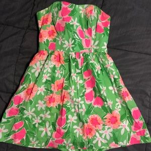 Strapless Lilly Pulitzer dress - worn once